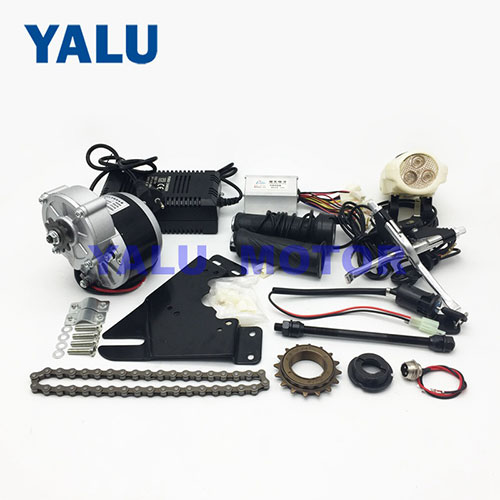 Electric Bike Kit 24V 250W MY1016Z Geared DC Motor Conversion Kit
