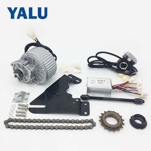 Electric Scooter Conversion Kit with 250W 24V Brushed Gear DC Motor