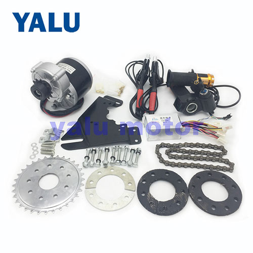 Motorized Bicycle Conversion Kit with 12T Left Freewheel Drive Motor