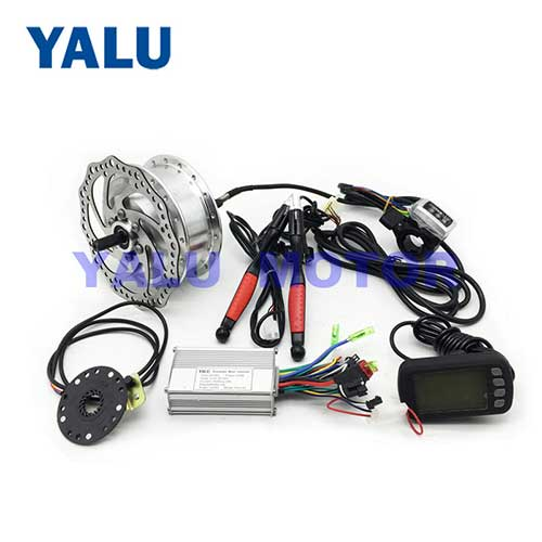 36V 250W Electric Bicycle Hub Motor Conversion Kit With LCD Display
