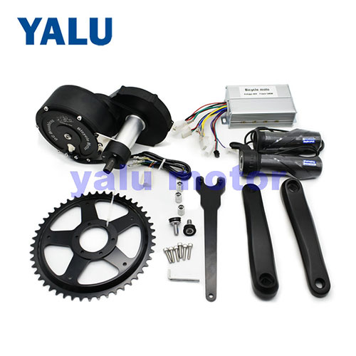 Brushless Middle Drive Motor Kit 50KM Fast Powerful for Mountain Bike