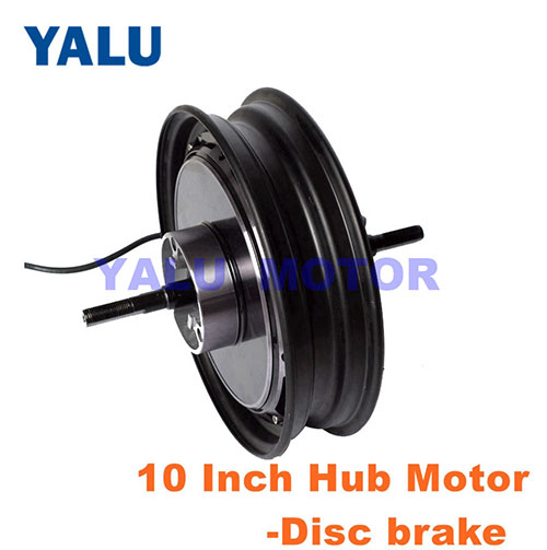 10 Inch electric motorcycle Motor 48V High efficiency with Disc brake