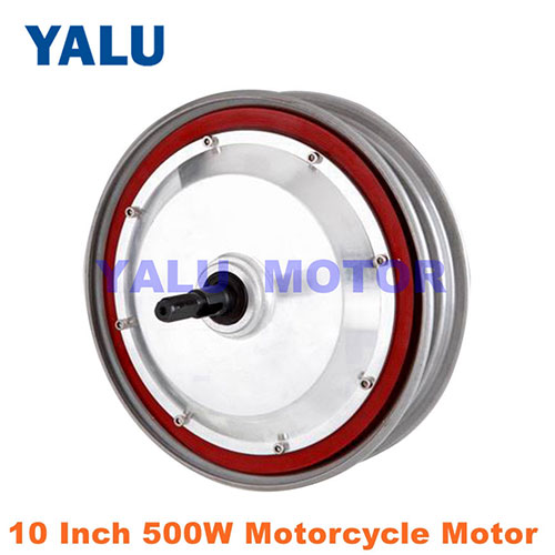 10 inch 500W motorcycle Hub Motor conversion to electric 48V