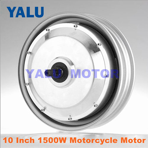 10 inch electric car hub motor 1500W high torque Power brushless DC