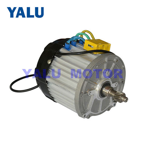 1000W-1200W E trike golf cart DC Motor 48V brushless tricycle Engine