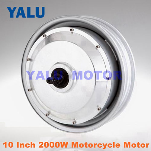 10Inch 2000W electric Motorcycle kit brushless DC motor 48V Ebike Kit