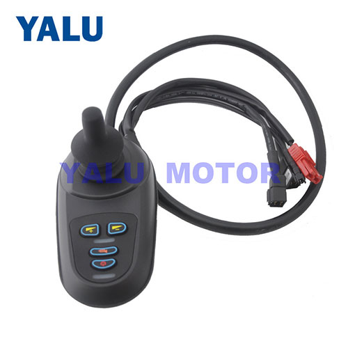 24V Electric Wheelchair DC Motor Joystick Controller with USB Port