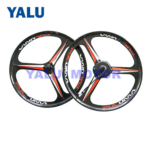 26 inch magnesium alloy three-knife integrated hub wheel motor
