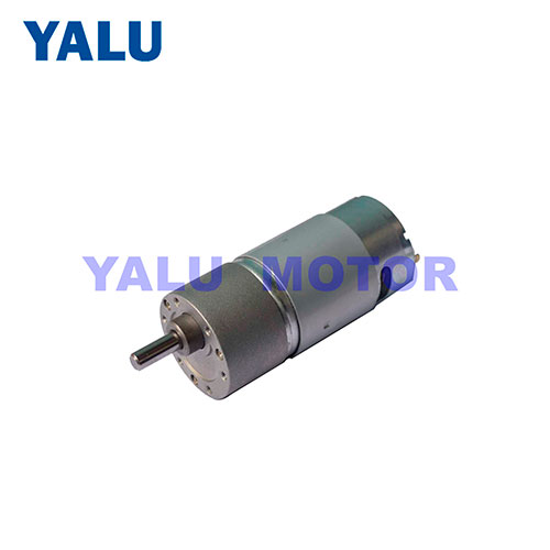 37GB-555 advertising equipment DC geared motor for DIY Robot Toy Car