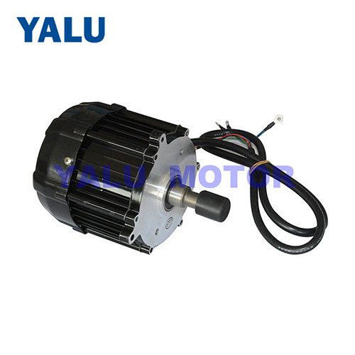 500W-1000W electric rickshaw brushless gear DC motor tricycle engine