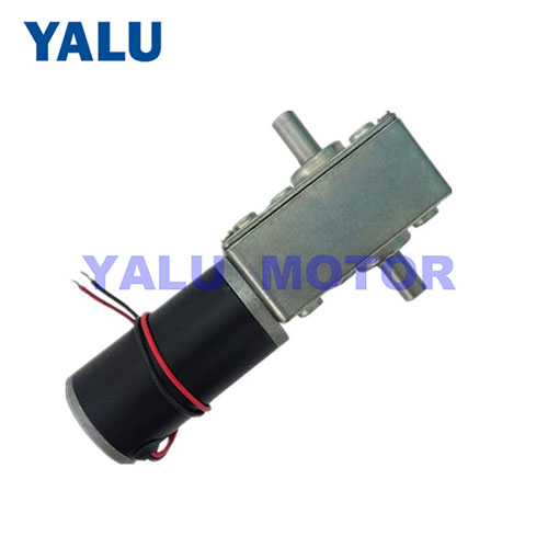 A58SW31ZYS double-shaft worm geared motor for Table Door Self-lock