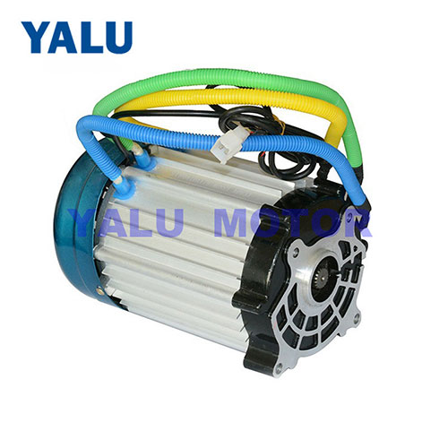 AGV vehicles brushless DC motor 1500-3000W gear for Electric tricycle