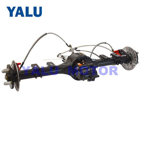 BLDC motor rear axle for Electric tricycle accessory with disc brake