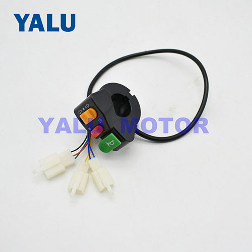E-bike Horn direction light head light combination power switch