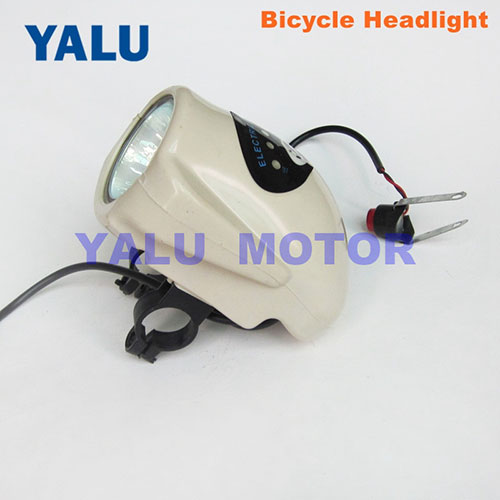 Ebike LED head light for electric bicycle DIY tricycle scooter lamp