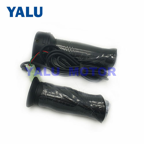 Electric Bike Black Throttle 24V-72V for Electric Bicycle Parts