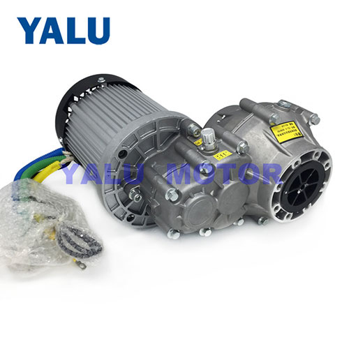 Electric Bldc Traction Motor BM1424HQF 2200W 72V for Electric Car