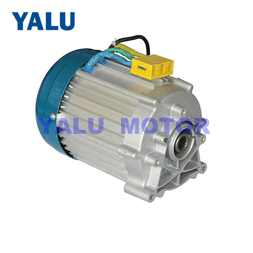 Park train brushless gear motor 500-1200W electric car middle drive