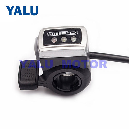 Wuxing ebike thumb throttle Gas Accelerator for E-scooter motorcycle