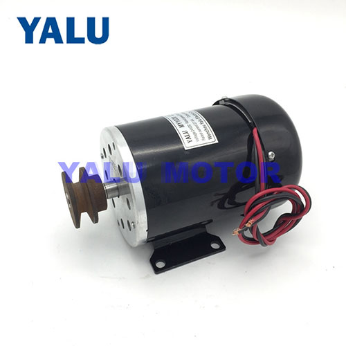 Solar Pump Brushed DC Motor Tailand Engine Driver With Cooling Fan